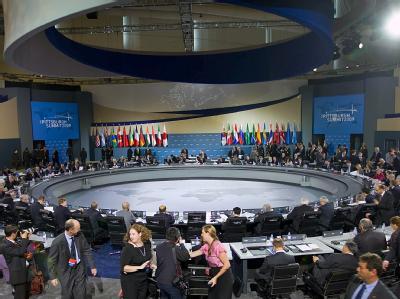 Konferenzsaal des G20-Gipfels