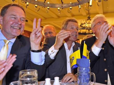 Die FDP feiert das Ende der elfjährigen Oppositionszeit.