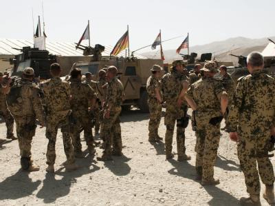 Deutsche Soldaten in Afghanistan: Ein 24-jähriger Soldat ist bei einem Anschlag getötet worden.