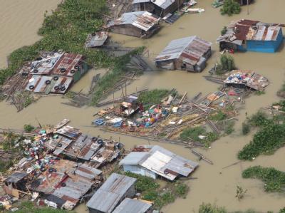 Verwüstung durch Taifun «Parma»