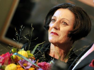 Die in Rumänien geborene Schriftstellerin Herta Müller.