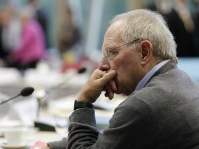 Innenminister Schäuble ist als Finanzminister im Gespräch.