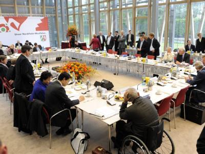 Verhandlungen in Berlin