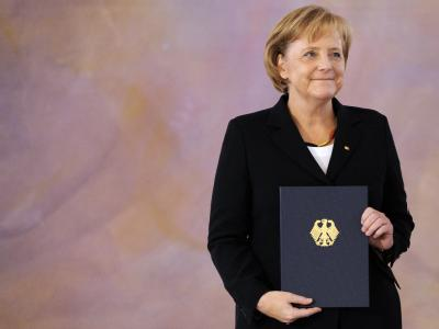 Ernennungsurkunde für Merkel