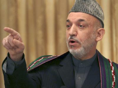 Der umstrittene afghanische Präsident Hamid Karsai strebt eine Versöhnung mit den Taliban an.