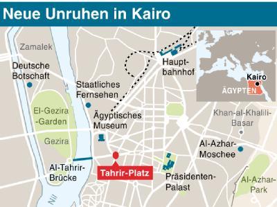 Neue Unruhen in Kairo