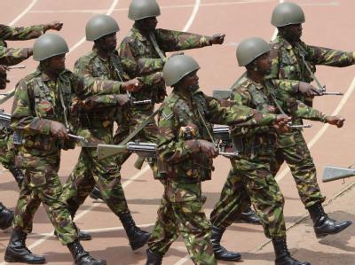 Die kenianischen Streitkräfte nutzen Twitter. Foto: Dai Kurokawa