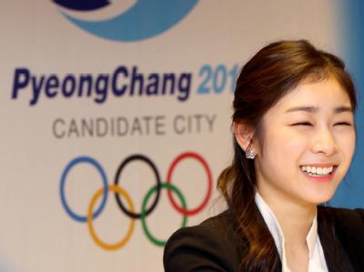Eiskunstlauf-Olympiasiegerin Kim Yu-Na ist das charmante Aushängeschild von Pyeongchang.
