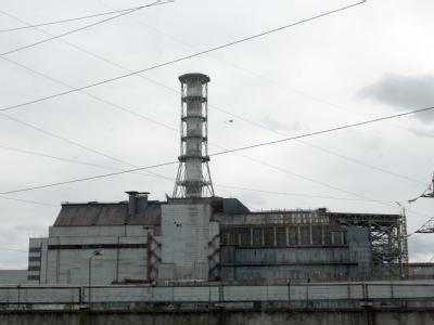 Unglücksreaktor 4 des AKW Tschernobyl