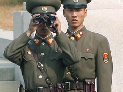 Nordkoreanische Militärs