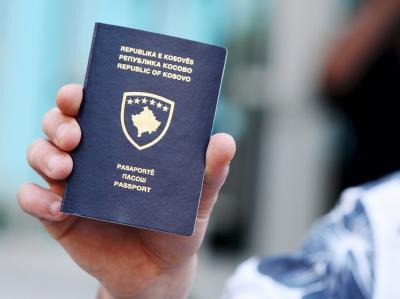 Pass vom Kosovo