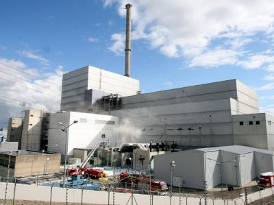 Feuer am Atomkraftwerk Krümmel