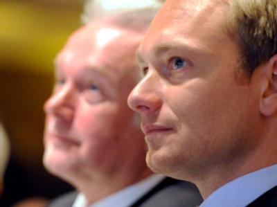 Wolfgang Kubicki und Christian Lindner (Foto vom 10.01.2011)