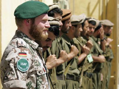 Bundeswehr-Soldat im afghanischen Kundus (Archiv).