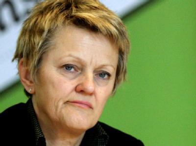 Grünen-Kandidatin für das Amt der Regierenden Bürgermeisterin der Hauptstadt: Renate Künast.