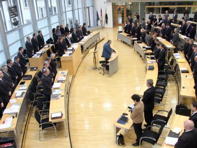 Der Landtag von Sachsen-Anhalt in Magdeburg.