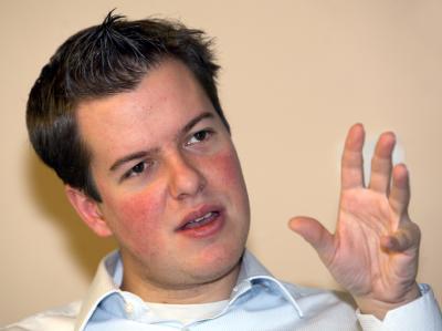 Der Vorsitzende der FDP-Jugendorganisation Junge Liberale (JuLi), Lasse Becker.