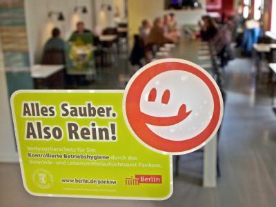 Sauberes Restaurant
