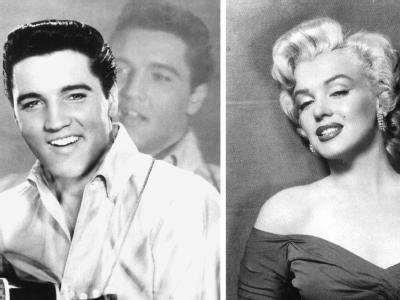 Elvis Presley und Marilyn Monroe sind bis heute unsterblich. Nun ist Popstar Michael Jackson im Reich jener Legenden angekommen, die der frühe Tod noch größer machte. (Archivfotos)