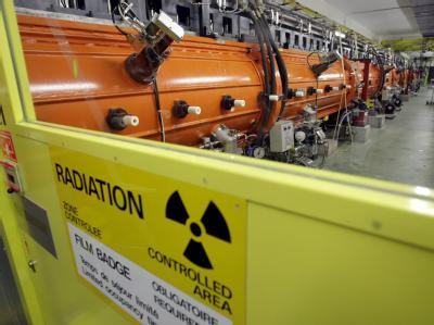 CERN-Anlage in Meyrin in der Nähe von Genf. (Archiv).