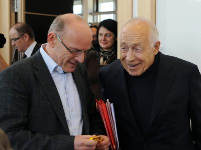 Winfried Hermann und Heiner Gei�ler