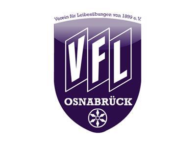 Das Vereins-Logo des Fußball-Bundesligisten VfL Osnabrück.