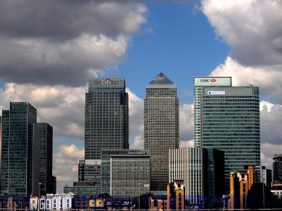 Der Finanzsektor ist die Lebensader der britischen Wirtschaft, das Bankenviertel in der City of London deren Herz. Foto: Andy Rain/Archiv