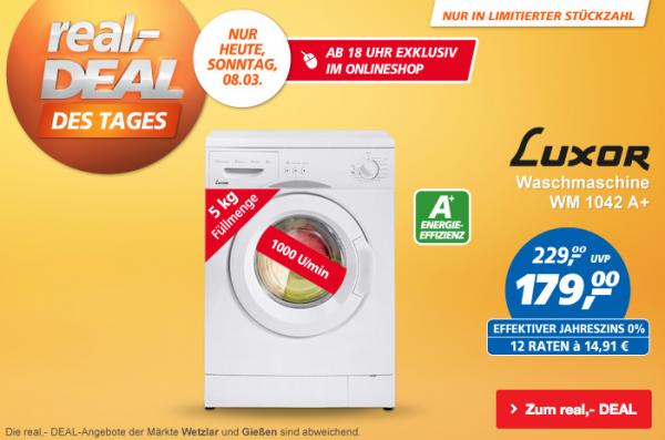 waschmaschine bei real