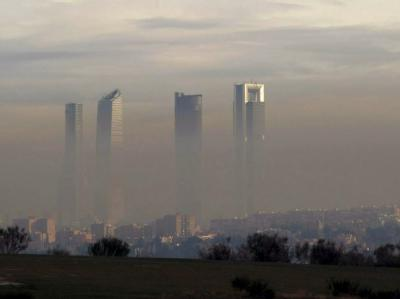 Smog in Madrid
