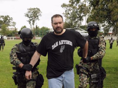 Die mexikanische Polizei hat den Mafiaboss Sergio Enrique Villarreal Barragan alias «El Grande» gefasst.