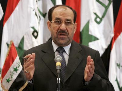 Iraks amtierender Regierungschef Nuri al-Maliki (Archivbild).