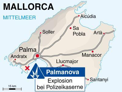 Anschlag auf Mallorca