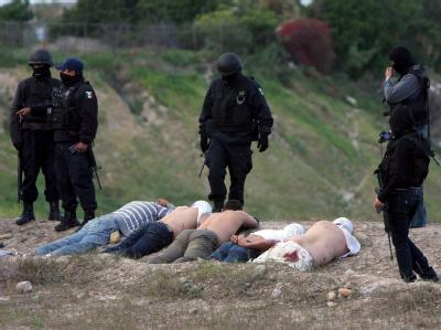 Festnahme in Mexiko: Der Polizei kommt jetzt die internationale Hackergruppe Anonymous zu Hilfe. Archivfoto: STR