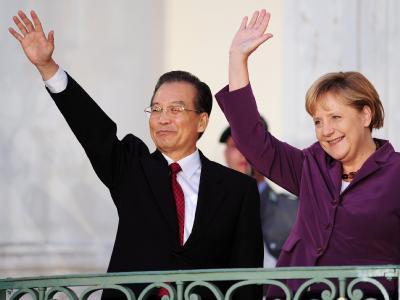Merkel trifft Wen