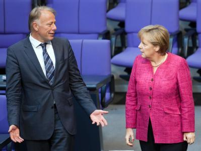Merkel und Trittin