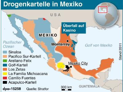Drogenkartelle in Mexiko
