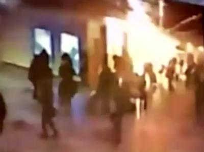 Heftige Detonation: Bei dem Anschlag auf dem internationalen Flughafen Domodedovo hat ein Selbstmordattentäter 35 Menschen mit in den Tod  gerissen.