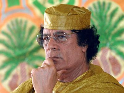 Klammert sich weiterhin an die Macht: Libyens Staatschef Muammar al-Gaddafi. (Archivbild)