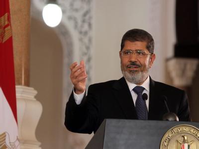 Ägyptens Präsident Mursi besucht die EU-Spitze in Brüssel. Foto: Khaled Elfiqi/Archiv