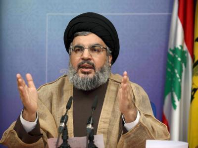 Hassan Nassrallah: Anführer der schiitisch-islamistischen Hisbollah im Libanon