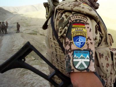 Bundeswehr-Soldat in Afghanistan