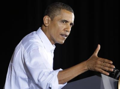 Barack Obama will ein Jahr nach der Lehman-Pleite Bilanz ziehen. (Archivbild)