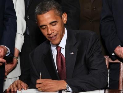 US-Finanzreform: Präsident Barack Obama unterzeichnet das über 2300 Seiten starke Gesetzeswerk.