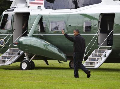 US-Präsident Barack Obama macht sich auf den Weg in die von der Ölpest betroffenen Regionen.