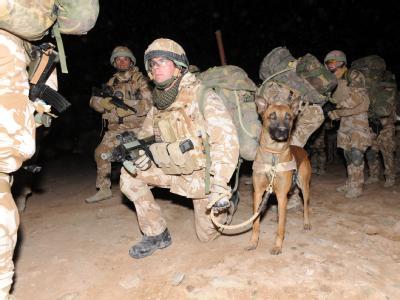 Eine britische Einheit bereitet sich auf die Großoffensive gegen die Taliban vor.