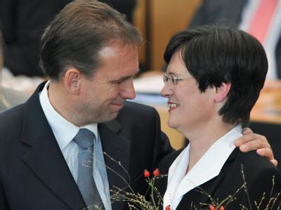 Dieter Althaus und Christine Lieberknecht