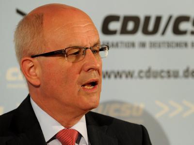Der Vorsitzende der CDU/CSU-Bundestagsfraktion, Volker Kauder, ist überzeugt, dass Schwarz-Gelb eine eigene Mehrheit schaffen wird.
