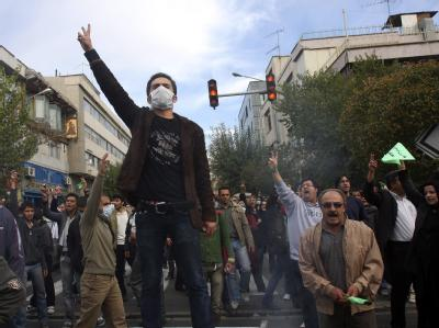 Proteste gegen Ahmadinedschad