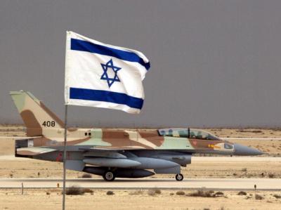 F-16I-Jet der israelischen Luftwaffe (Archivbild). Israels Premier glaubt nicht an einen Erfolg der Iran-Sanktionen ohne militärische Optionen.