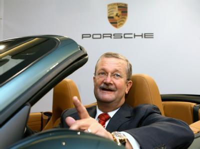 Porssche-Chef Wendelin Wiedeking hat 2008 mehr als 77 Millionen verdient (Archiv).